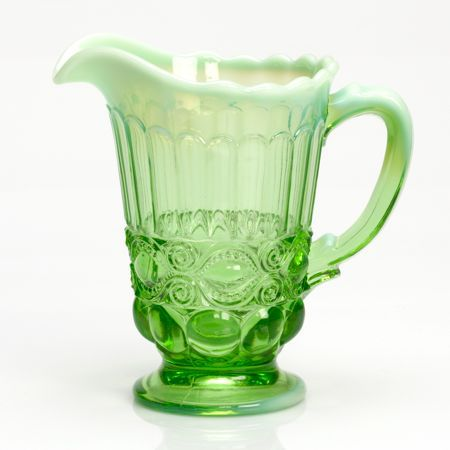 Green Opal Pitcher