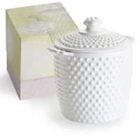 Hobnail Cookie Jar