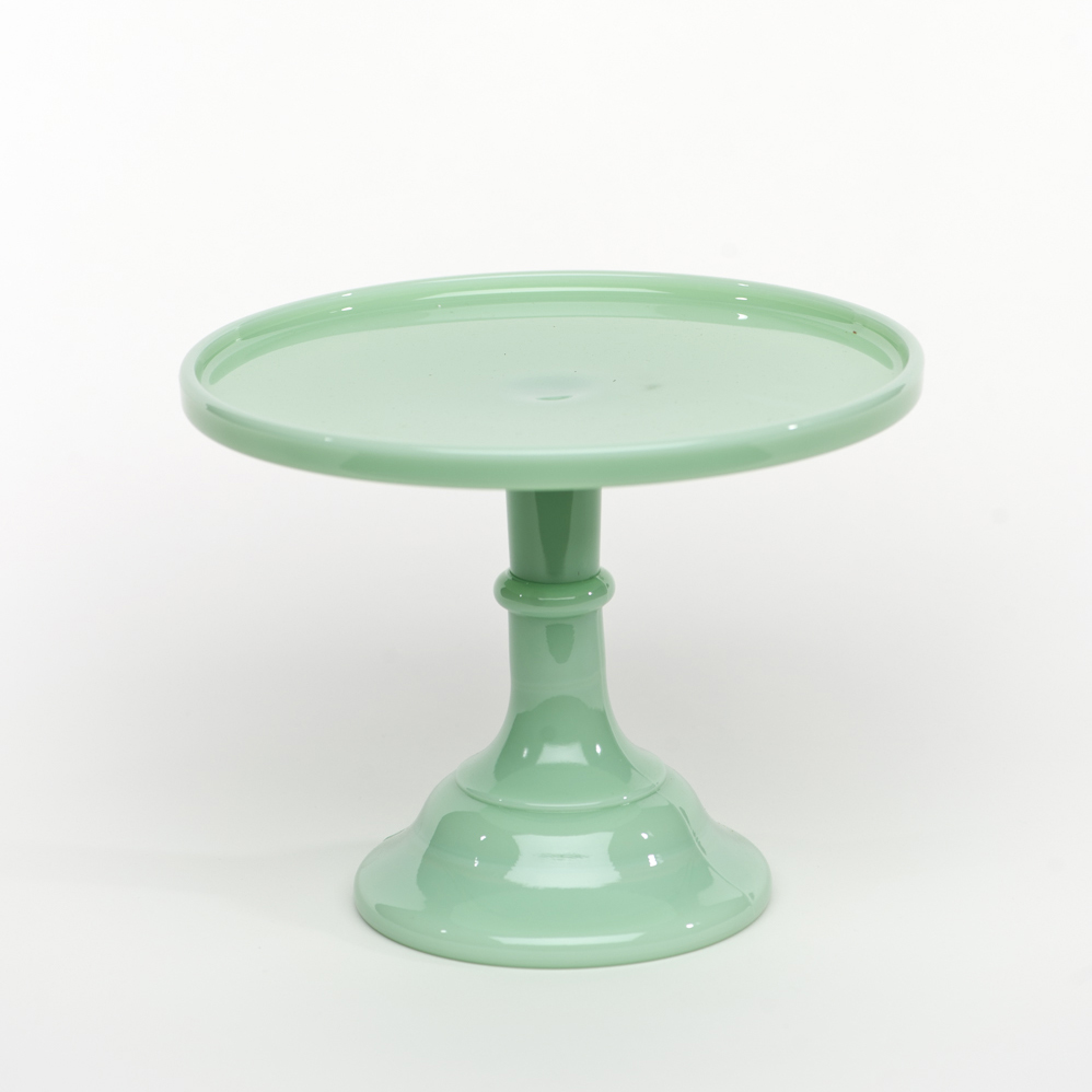 cake plate stand 9 quot jadeite antique cake stand sweet and saucy supply 2271