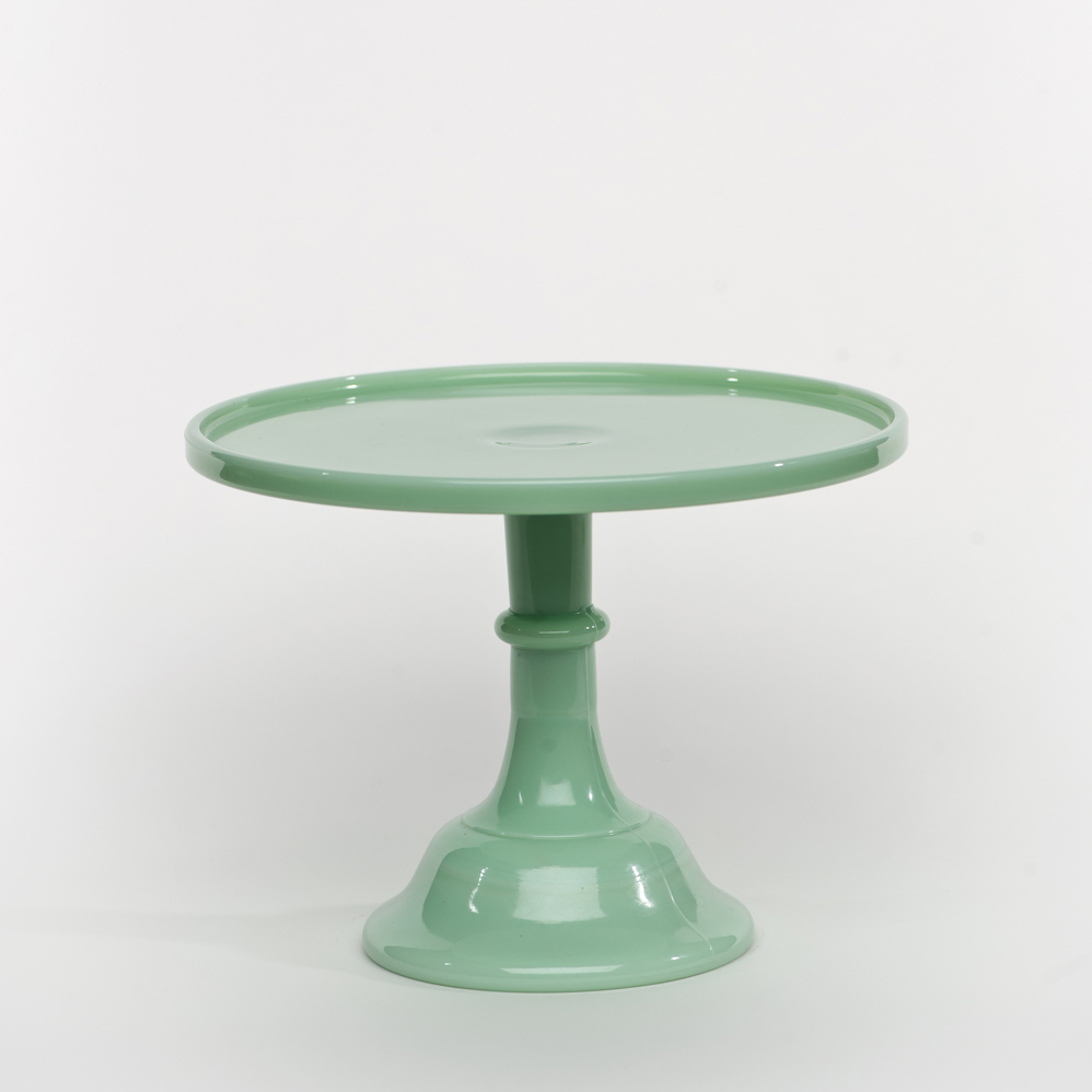 12 Quot Jadeite Antique Cake Stand Sweet And Saucy Supply
